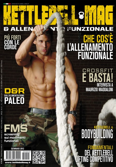 kettlebell magazine, justin woltering