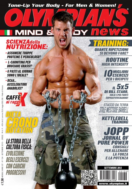 olympian's magazine, olympian, justin woltering