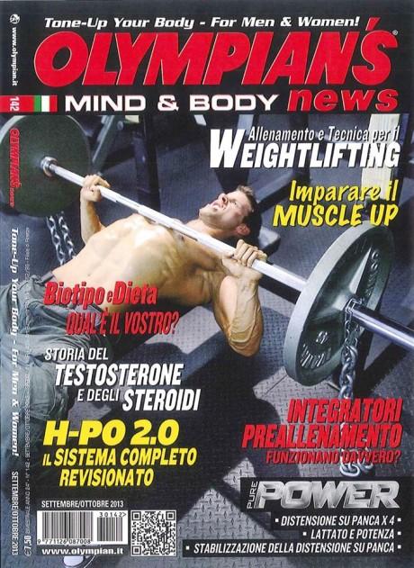 olympian's magazine, olympian, justin woltering