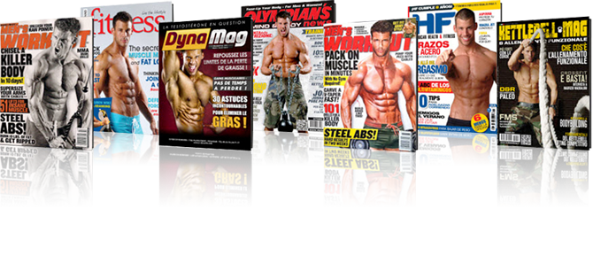 Fitness, magazine cover
