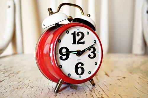 alarm, sleep