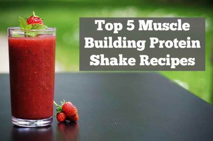 Top 5 Muscle Building Protein Shake Recipes