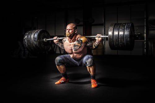 squat, lower back