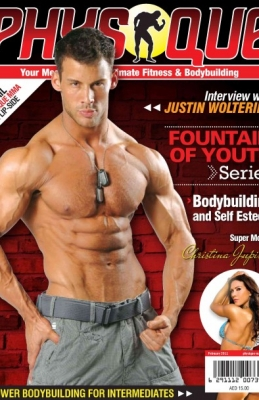 physique, magazine, justin woltering