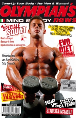 olympian's magazine, justin woltering,