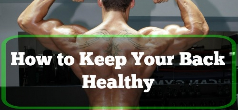 Top Tips for Keeping Your Back Healthy